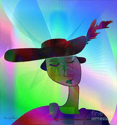 Digital Art - Daydreamer 6 by Iris Gelbart
