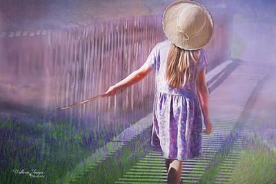 Digital Art - Daydreamer by Wallaroo Images