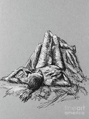 Daydreams Art Mixed Media - Daydreaming 2492 by Robert Yaeger
