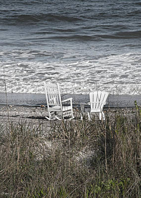 Paradise On Earth Photograph - Daydreaming By The Sea  by Betsy Knapp