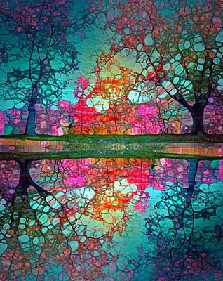 Digital Art - Daydreams In The Garden by Tara Turner