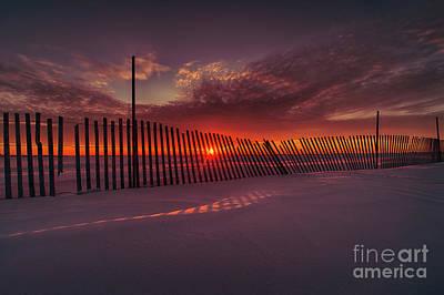 D800 Photograph - Daylight Boundary by Ian McGregor