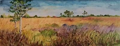 Painting - Dayout by Brenda Berdnik