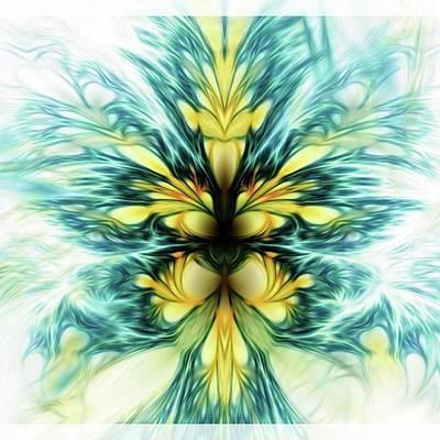 Dayqueen #art #abstract #digitalart Art Print by Michal Dunaj