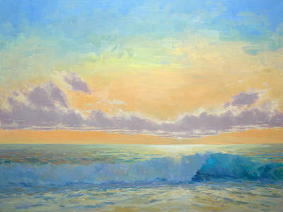 Painting - Day's Encore II by Timon Sloane