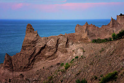 Photograph - Day's End At Chimney Bluffs by Carol Eade