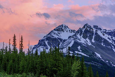 Banff Wall Art - Photograph - Day's End by Chad Dutson
