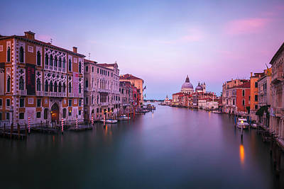 Photograph - Day's End From The Accademia Bridge by Andrew Soundarajan