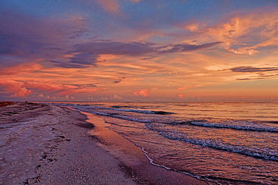 Photograph - Day's End - Florida Seascape by HH Photography of Florida