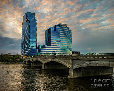 Photograph - Days End In Grand Rapids by Nick Zelinsky