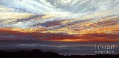 Painting - Day's End No.2. by Valerie Travers