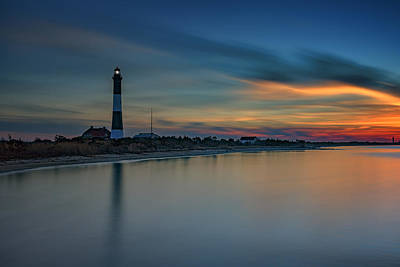 Day's End On Fire Island Art Print by Rick Berk