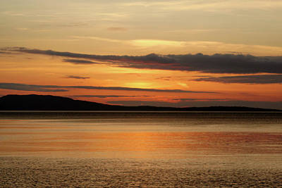 Orcas Island Photograph - Day's End On Orcas Island by Art Block Collections