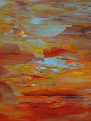 Painting - Days End by Soraya Silvestri