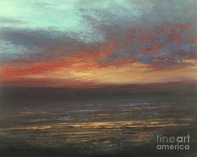 Painting - Day's End by Valerie Travers