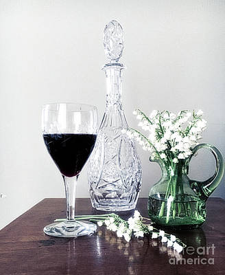 Malbec Photograph - Days Of Wine And Lilies by Luther Fine Art