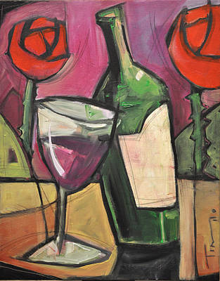 Painting - Days Of Wine And Roses by Tim Nyberg