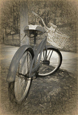 Bicycles Photograph - Days Remembered by Marcia Colelli