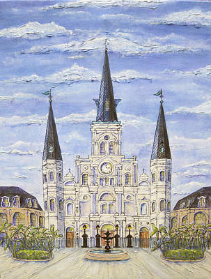 Painting - Daytime Cathedral by Catherine Wilson