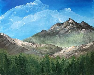 Smokey Mountains Painting - Daytime Hike by Bridget Marnet Powell