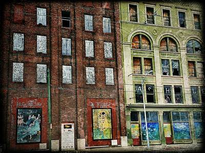Photograph - Dayton Downtown  by Michael L Kimble