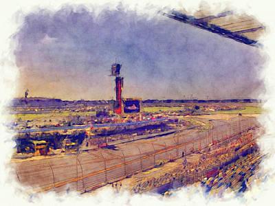 Daytona 500 2 Art Print
