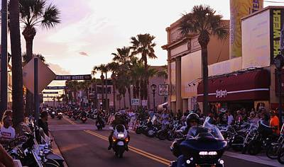 Photograph - Daytona Beach Bike Week by Christopher James