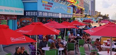 Photograph - Daytona Beach Boardwalk by Christopher James