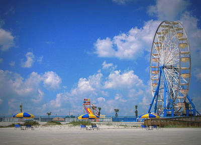 Daytona Beach Boardwalk Art Print