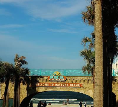 Photograph - Daytona Beach by Christopher James