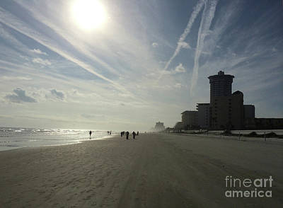 Photograph - Daytona Beach Early by Audrey Peaty