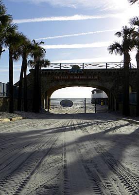 Photograph - Daytona Beach Entrance  by Chris Mercer