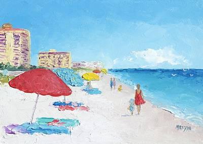 Painting - Daytona Beach by Jan Matson