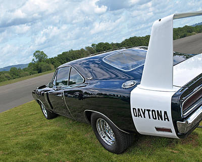 Photograph - Daytona Charger by Gill Billington