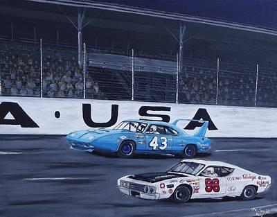 Daytona Art Print by Michael Smith