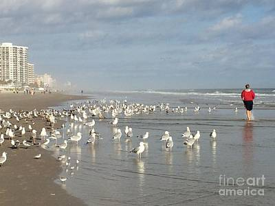 Photograph - Daytona Morning by Audrey Peaty