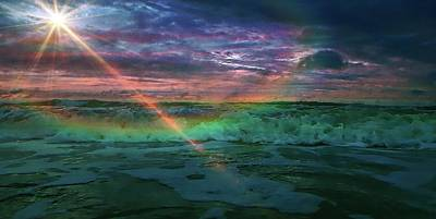 Photograph - Daytona Rainbow by Sheri McLeroy