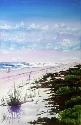 Wall Art - Painting - Daytona Sunrise by Terry Arroyo Mulrooney