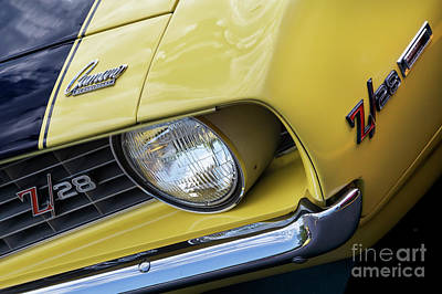 Photograph - Daytona Yellow Z28 by Dennis Hedberg