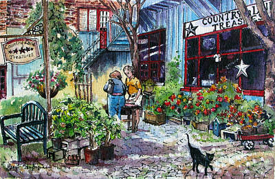 Art Print featuring the painting Daytripper  by Margit Sampogna