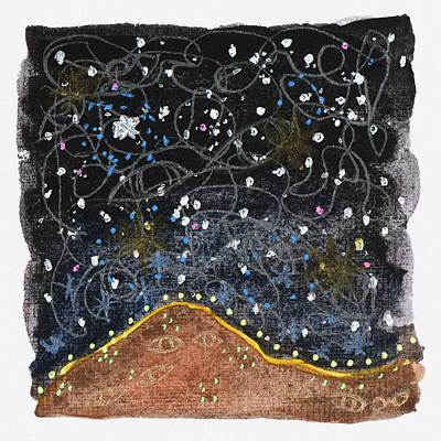 Drawing - Dazed, Elephant Butte, Nm 2017 by Damini Celebre