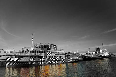 Photograph - Dazzle Ship by Spikey Mouse Photography