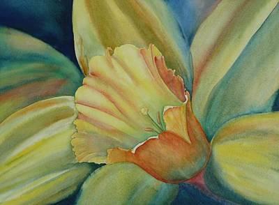Dazzling Daffodil Art Print