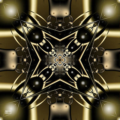 Digital Art - Dazzling To Behold by Jim Pavelle