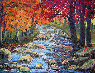 Dazzling View From The Rapidan Art Print by Lee Nixon