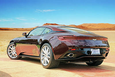 Photograph - Db11 Rear View by Christopher McKenzie