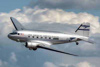 Photograph - Dc-3 by Jeff Cook
