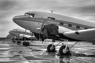Douglas Dc-3 Photograph - Dc-3's by Rick Mann