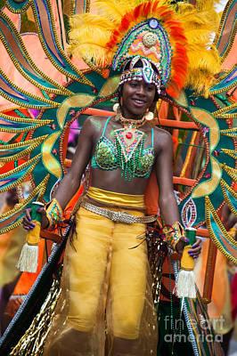 Dc Caribbean Carnival No 16 Art Print by Irene Abdou