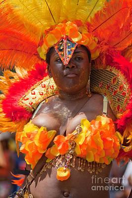 Dc Caribbean Carnival No 23 Art Print by Irene Abdou